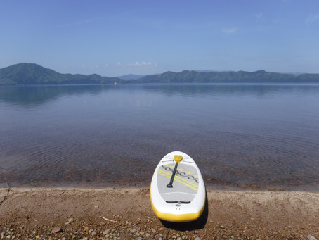田沢湖SUP