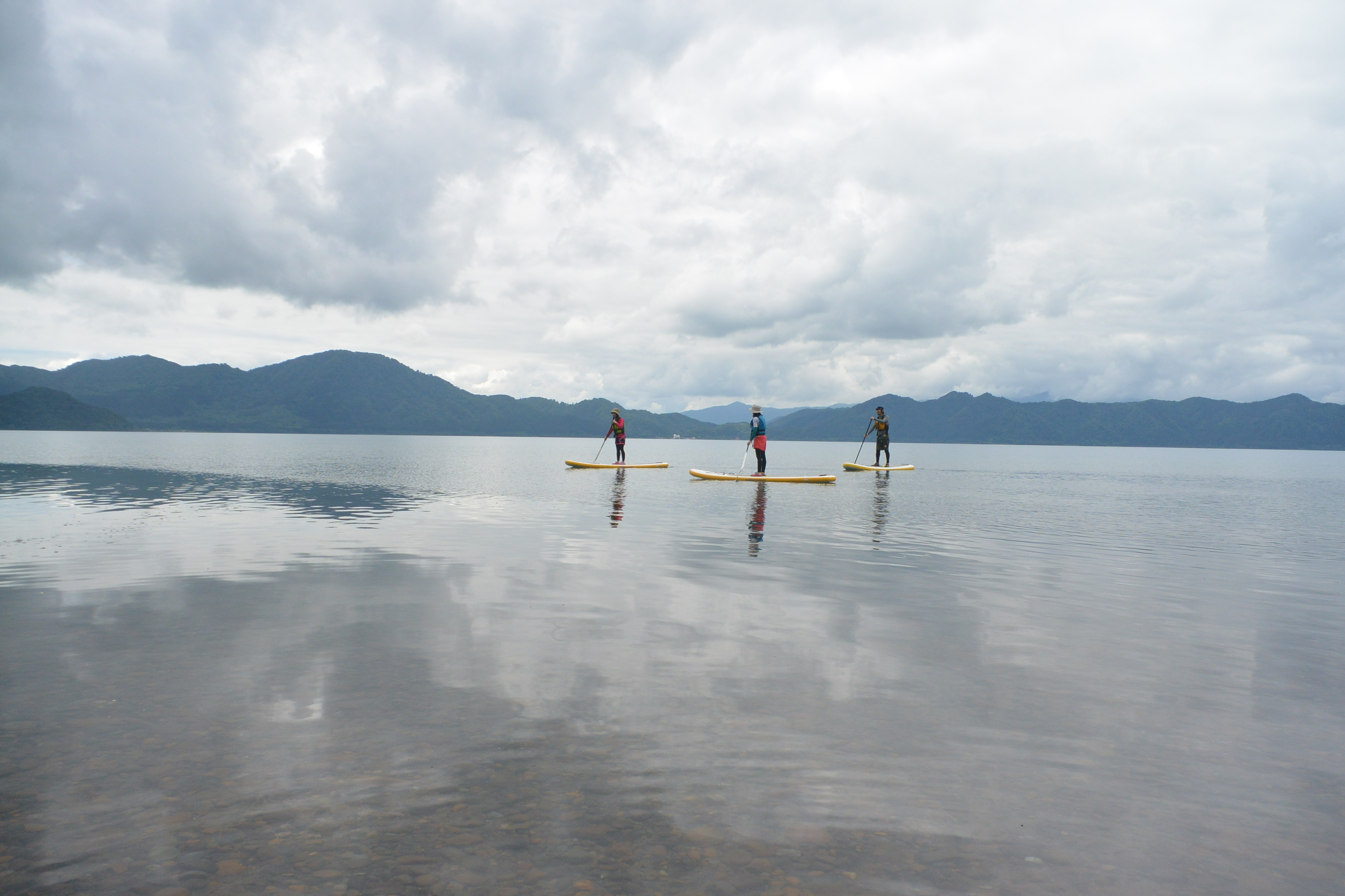 田沢湖SUPツアー