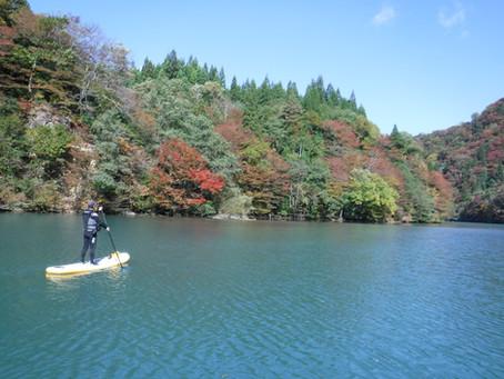 10/21夏瀬渓谷SUPツアー