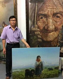 Hu Maosheng, Chinese Artist