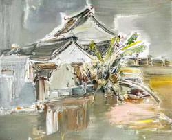 Spring at Hui Shan, 50cmX60cm