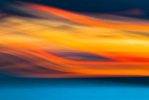 Dancer on the Blue Sea