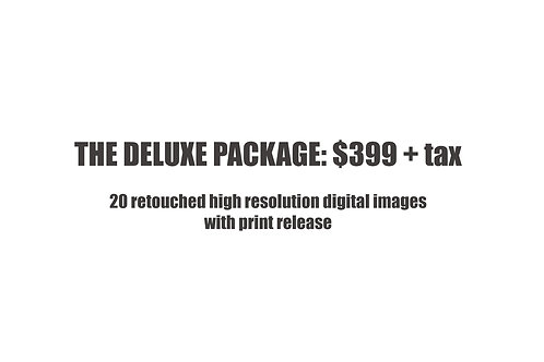 The Deluxe Photo Package $399