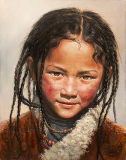 The Tibtan Girl Yingzhulamu