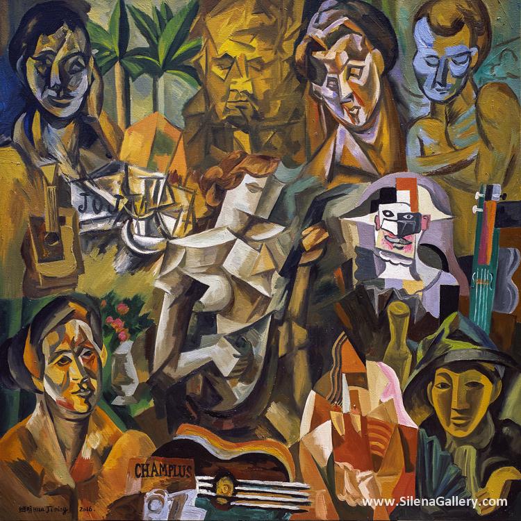 Picasso's Cubism