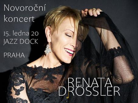 Novoroční koncert Renaty Drössler 15.1.2020