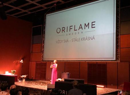 Sobota s Oriflame a šansonem