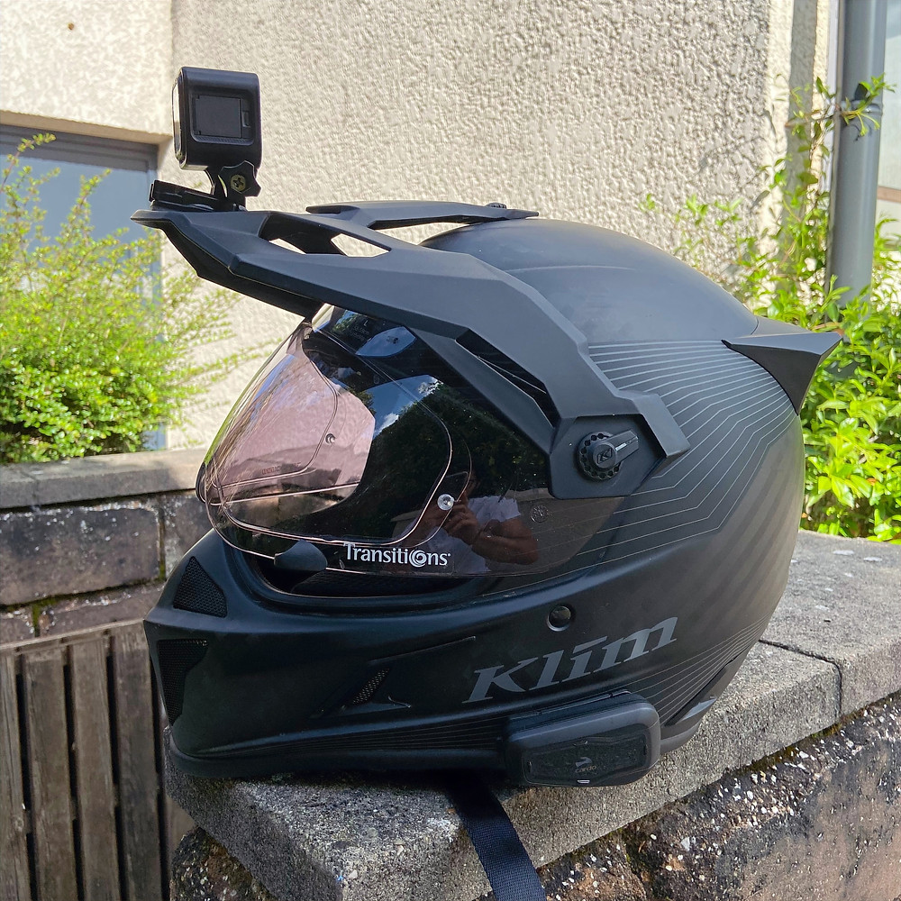 Klim Krios Helmet transition lens