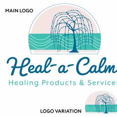 Heal-A-Calm Logo Design
