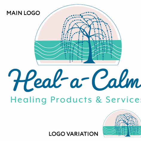 Heal-A-Calm Logo Design