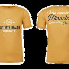 ealth Chiropractic T-Shirt Design