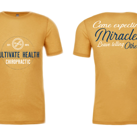 ealth Chiropractic T-Shirt Design