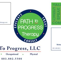 Path to Progress Therapy Branding