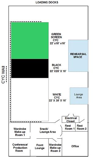 Encore Film And Music Studio Floor Plan