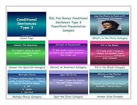 Conditional Sentences Type 3 PowerPoint