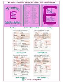 70VocabularyJumbledWordsWorksheetBook.jp