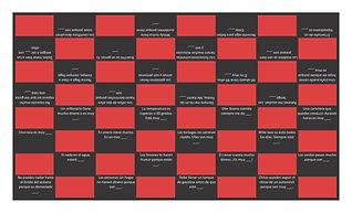 Adjectives Spanish Checker Board Game.jp