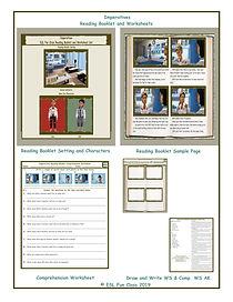 Imperatives Reading Booklet, Worksheet,