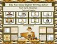 English Writing Safari Post Card Adventu