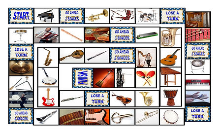 Musical Instruments Legal Size Photo Boa