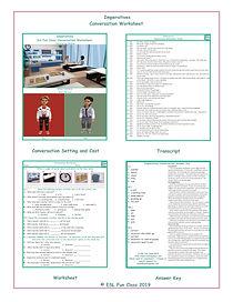 Imperatives Conversation Worksheet CP.jp