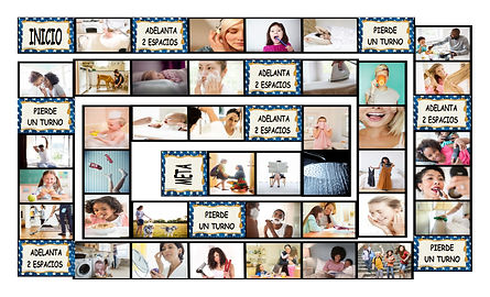 Daily Activities Spanish Legal Size Phot