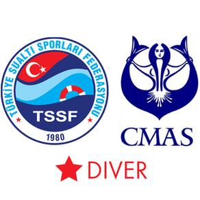 Cmas 1 Yıldız Dalıcı Kursu Programı (Su Becerileri)