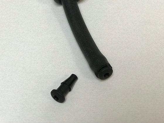 """Plastic End Plugs - Fits .187"""" ID Tubes"""