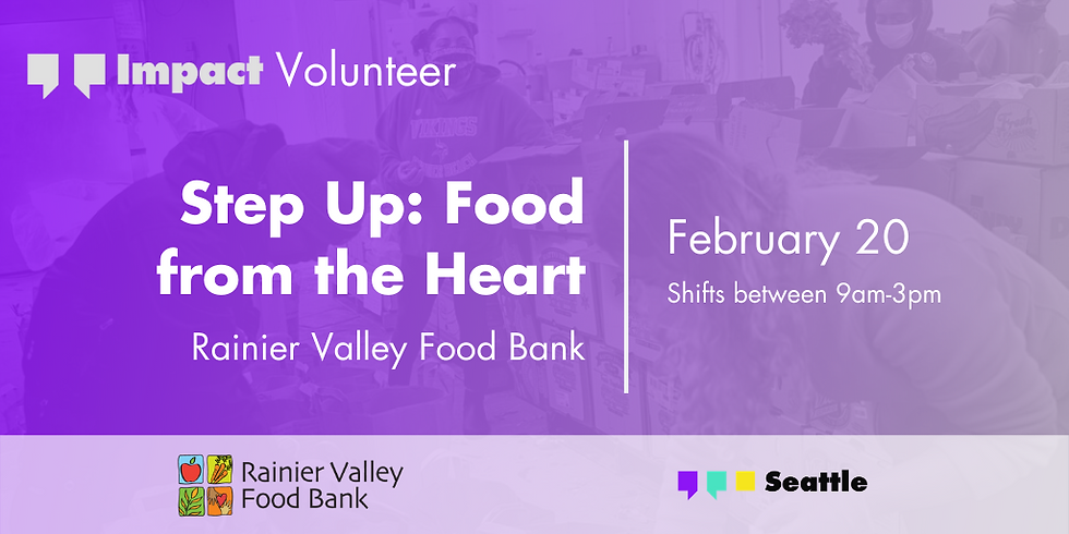 Step Up: Food from the Heart