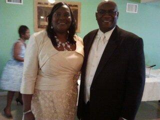Drs. Wright @ DeAndrea's wedding