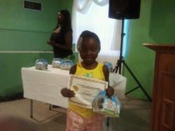 Jaydin, granddaughter