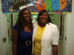 Dr. 'D' & Adri @ graduation party