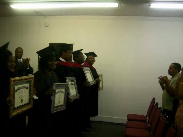 Receiving Doctorates