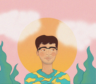 The sky is pink | Illustration