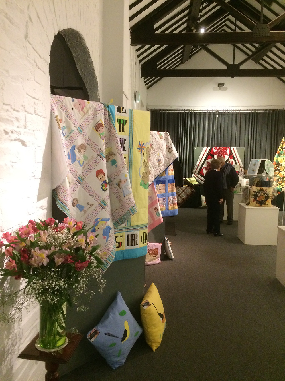 The textile exhibition is open!! Come along to the Long Gallery at the North Down Museum - its well worth a visit and you might even find something lovely to help with ideas for Christmas!