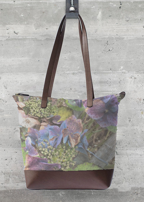 VIDA Statement Bag - Lilac Garden by VIDA