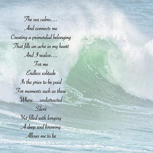 The Sea Calms