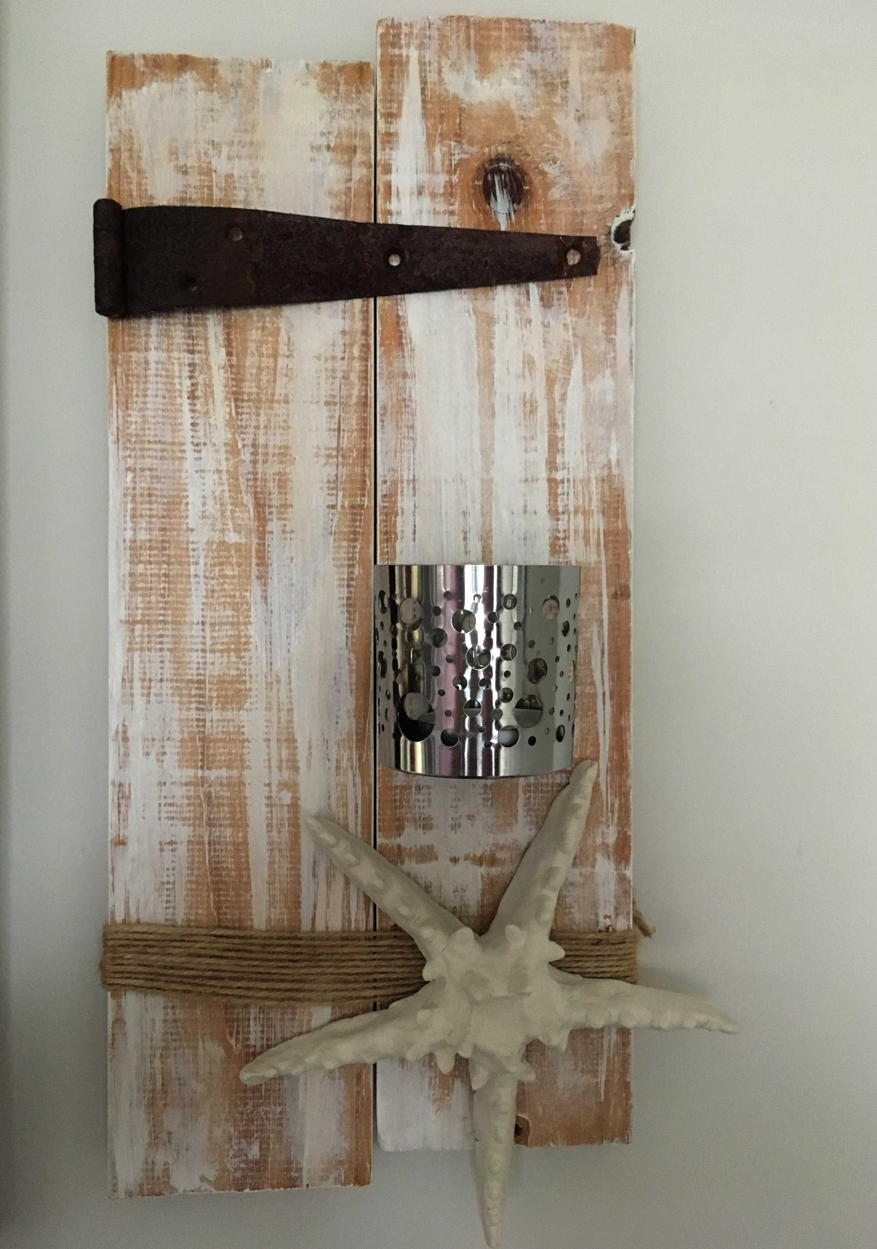 Beach Cottage Wall Sconce