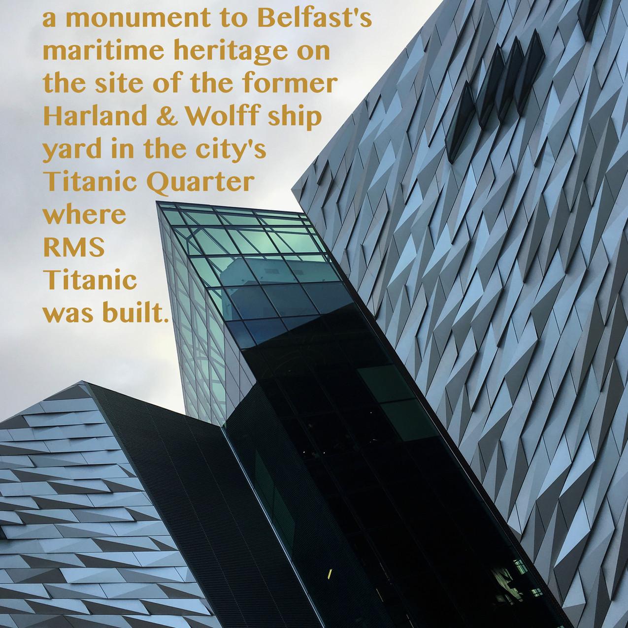 Titanic Building Belfast.