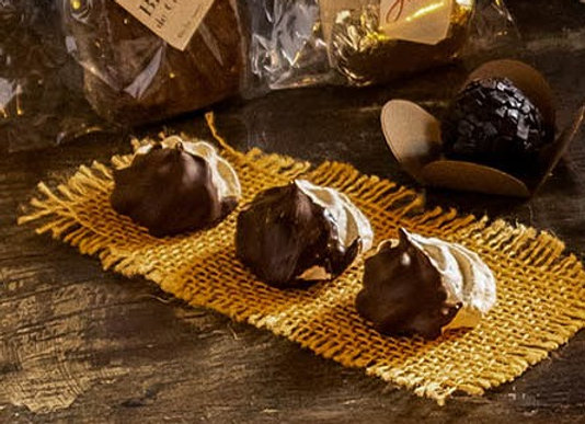 Merengue com Chocolate