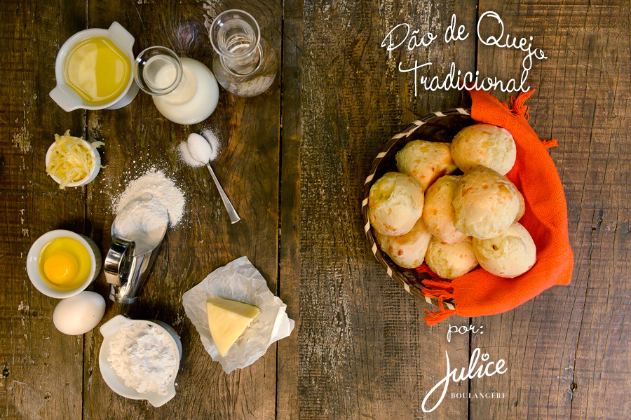 Receita de Pão de Queijo da Julice!