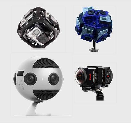 VR,VRカメラ,4K,8K,gopro,insta360pro,kodak,pixpro4k,