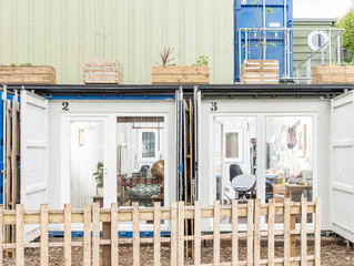 Our favourite shipping container buildings.