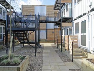 Marston Court emergency housing solution.