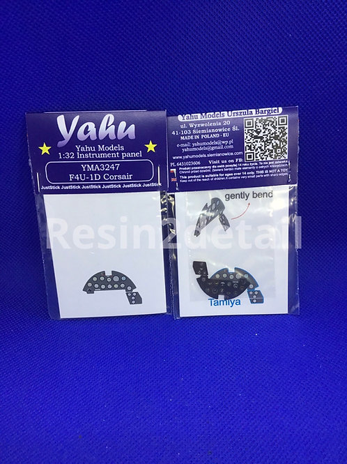 Yahu Models 1/32 F4U-1D Corsair Instrument Panel YMA3247