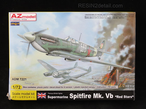"AZ Model Supermarine Spitfire Mk. VB ""Red Stars"" ADM7221"