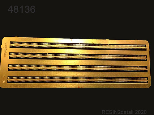 1/48 Photo-Etch 0.50 Cal Browning Ammo Strips
