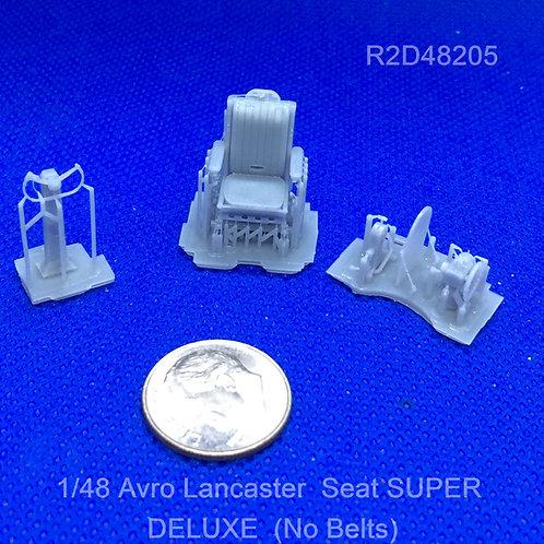 1/48 Avro Lancaster Seat Upgrade (No Belts)