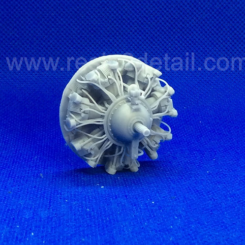 RESIN2detail Fast Fix 1/32  R-2600 Detailed Radial Engine Front 32018