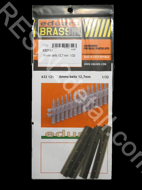 Eduard BRASSIN 1/32 Resin 0.50 Cal Ammo Belts (4 PCS)  EDU632121